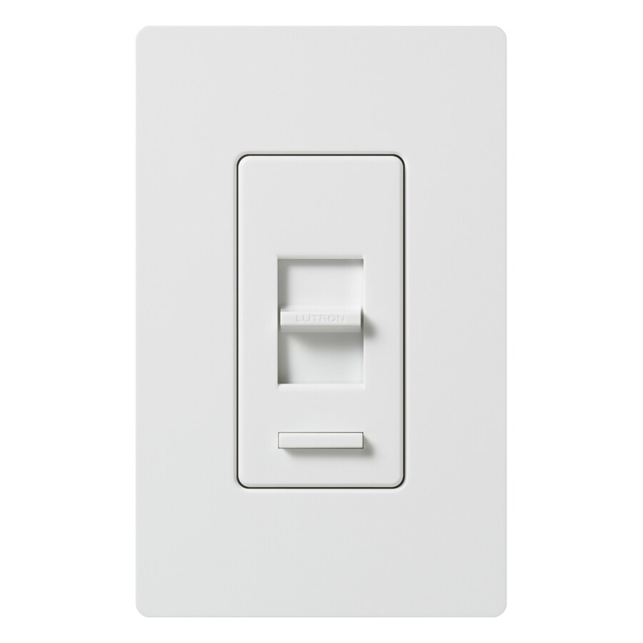 Lutron Lumea 600-Watt Single Pole 3-Way White Indoor Dimmer