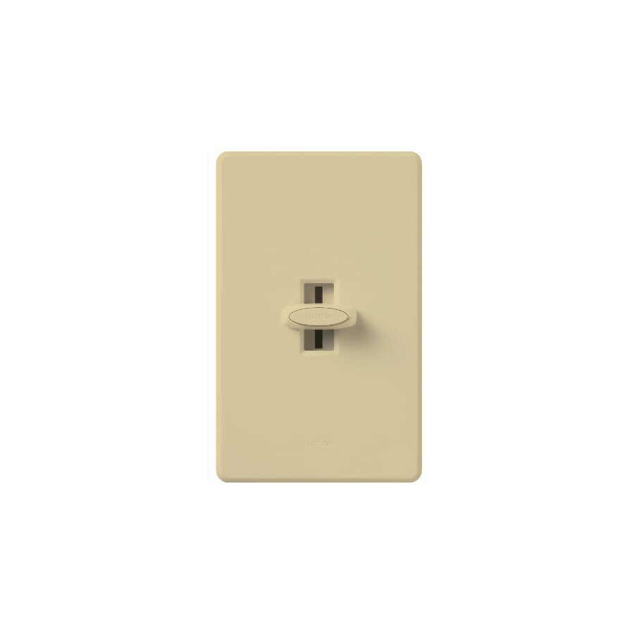 Lutron Glyder-Switch 3-Way Ivory Dimmer