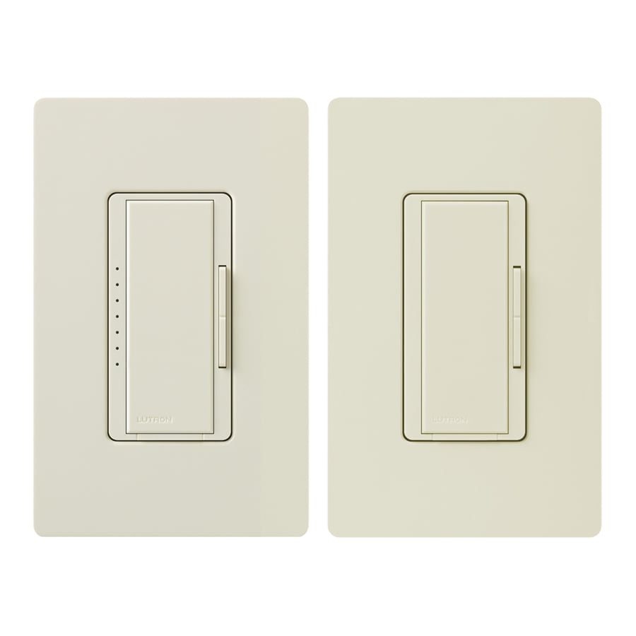Shop Lutron MaestroSwitch 3Way Almond Dimmer at Lowescom