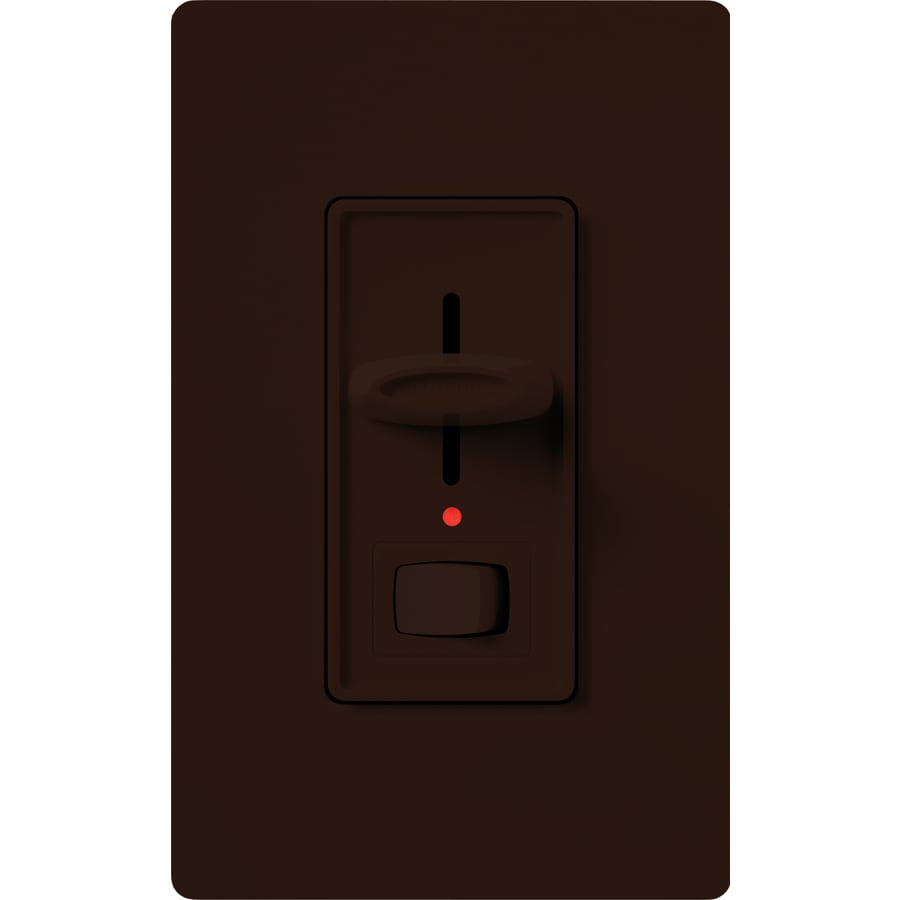 Lutron Skylark 1000-Watt Single Pole 3-Way Brown Indoor Dimmer