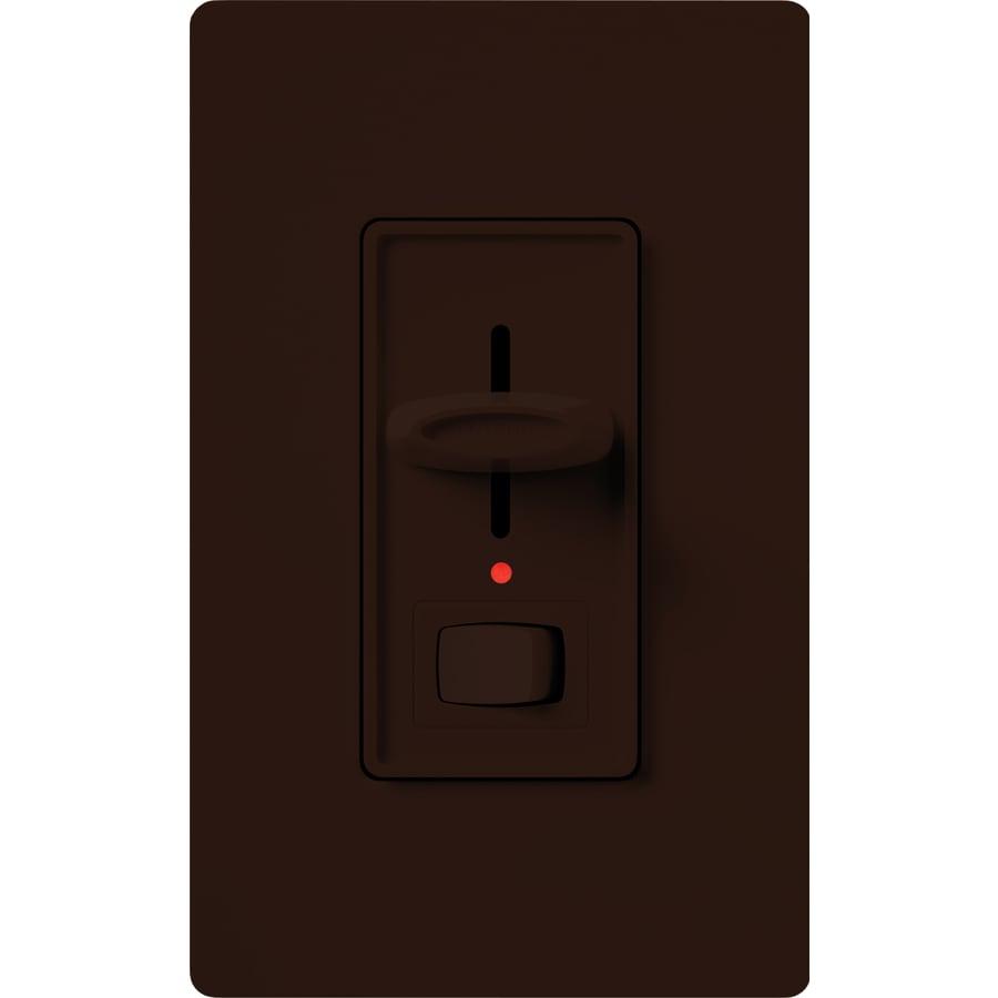 Lutron Skylark 1,000-Watt Single Pole Brown Indoor Dimmer