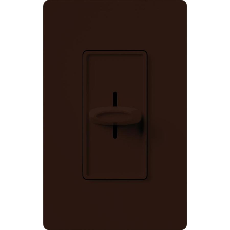 lutron skylark fully variable 5 amp brown indoor slide fan control. Black Bedroom Furniture Sets. Home Design Ideas