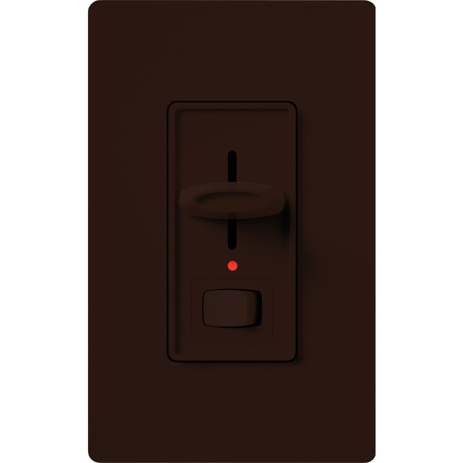 Lutron Skylark 600-Watt Single Pole 3-Way Brown Indoor Dimmer