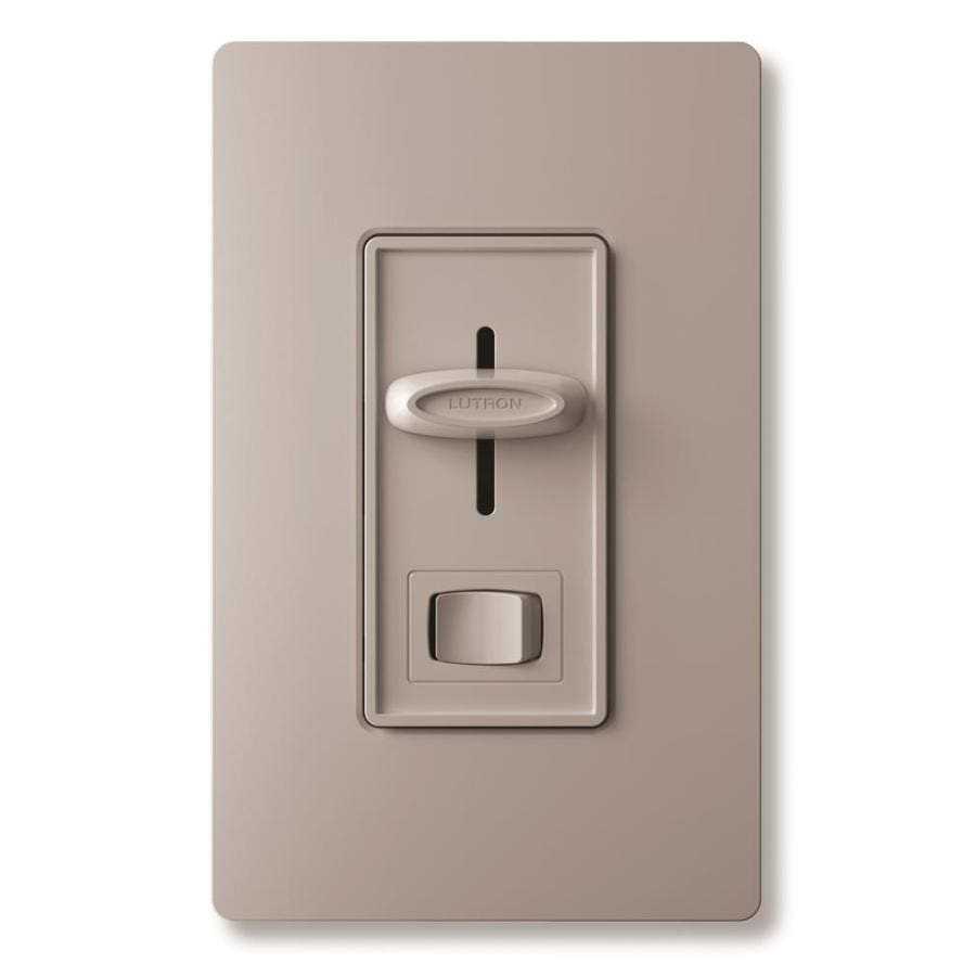 Lutron Skylark 1 5 Amp Single Pole Gray Indoor Combination