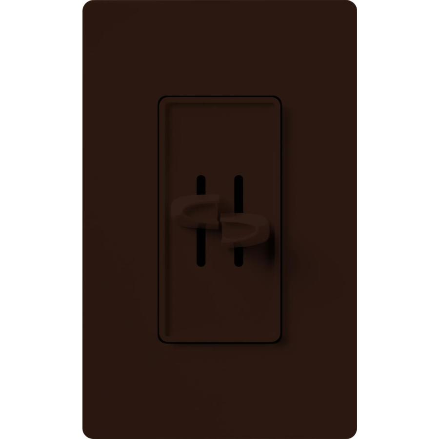 Lutron Skylark 3-Speed 1.5-Amp Brown Indoor Slide Fan Control