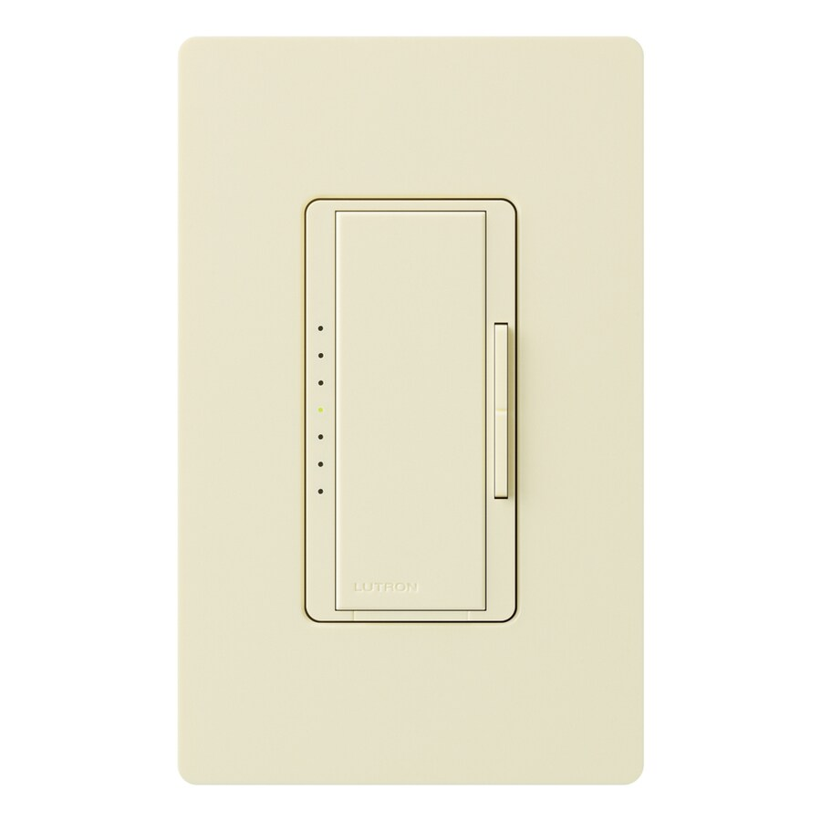 Lutron Maestro 450-watt Double Pole 3-way/4-way Almond Tap Indoor Dimmer