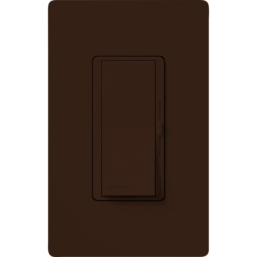 Lutron Diva 1000-watt Single Pole 3-way Brown Indoor Dimmer