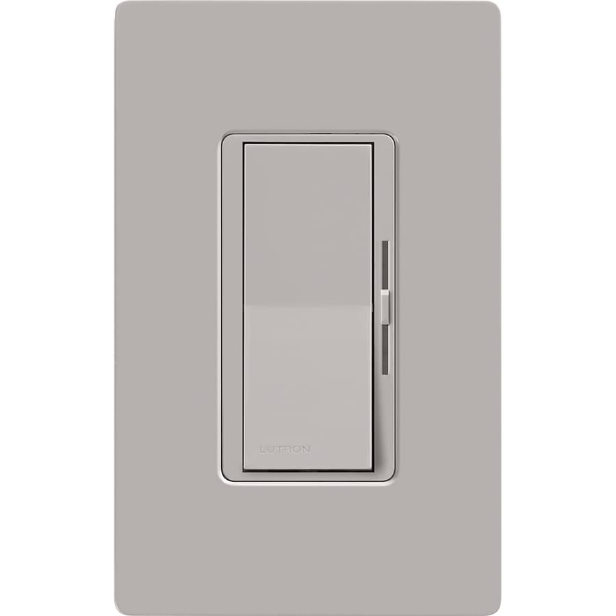 Lutron Diva 1,000-Watt Single Pole Gray Indoor Dimmer