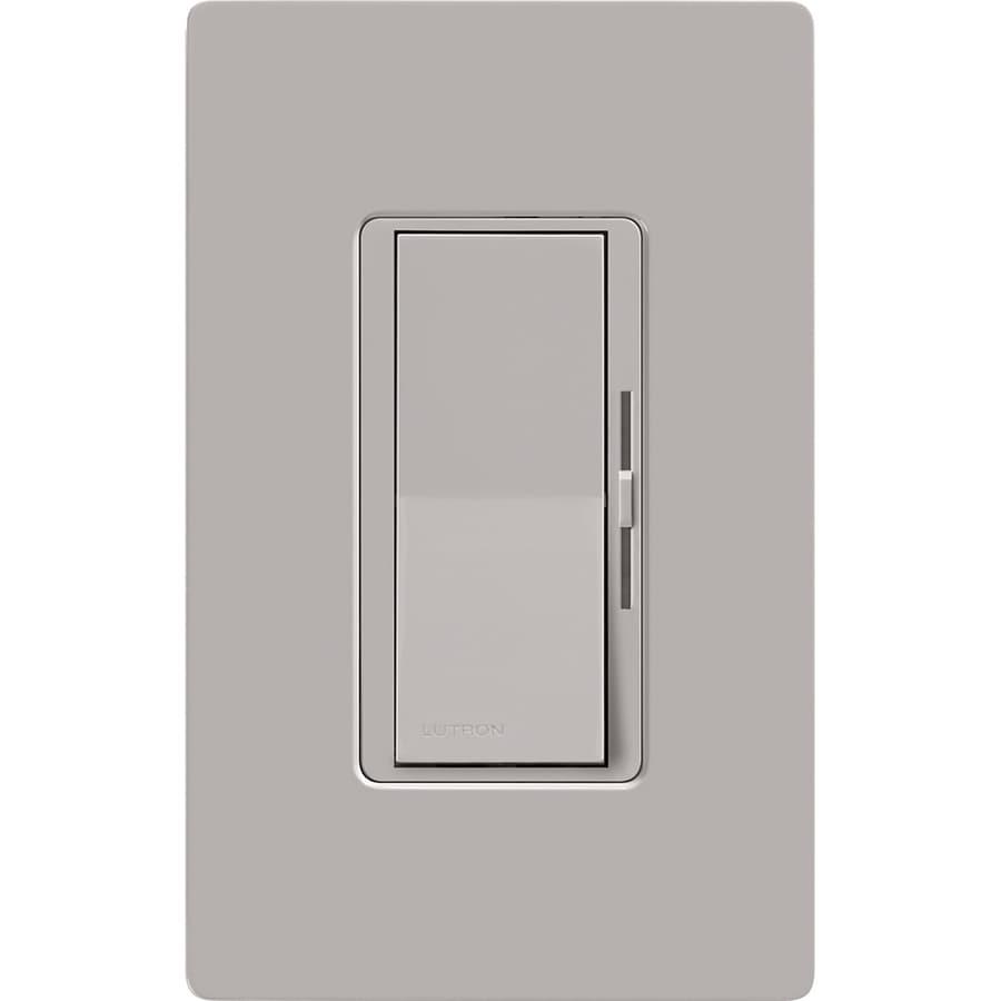 Lutron Diva 0-Switch 1000-Watt Single Pole Gray Indoor (Control) Dimmer
