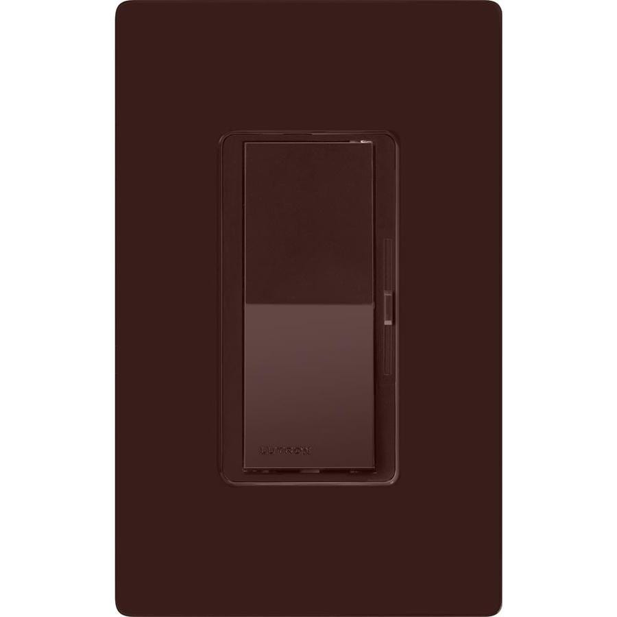 Lutron Diva 5-Amp 600-Watt Brown 3-Way Preset Dimmer