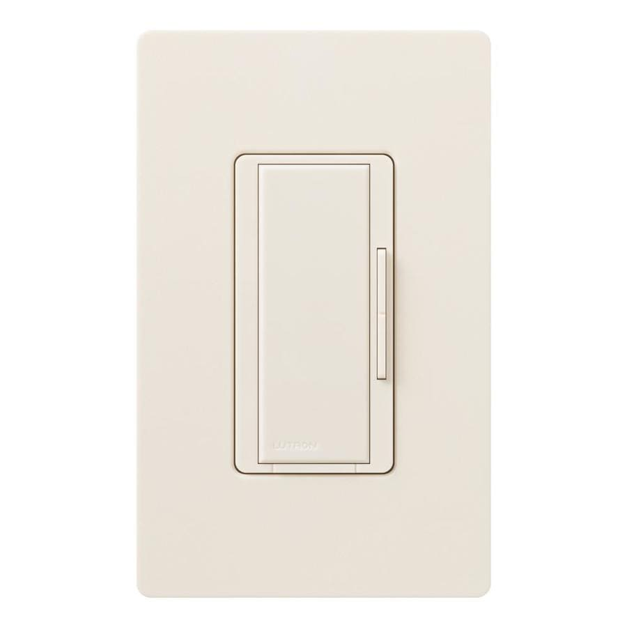 Lutron Maestro 1,000-Watt 3-Way/4-Way Eggshell Indoor Tap Dimmer