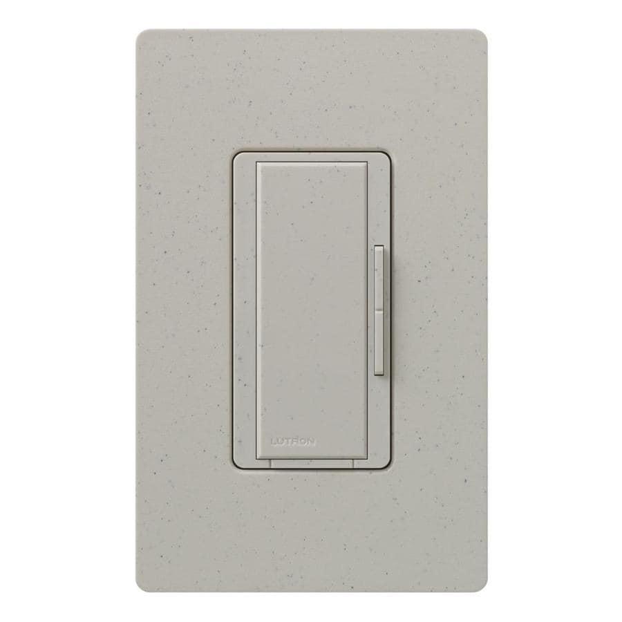 Lutron Maestro 1,000-Watt 3-Way/4-Way Stone Indoor Tap Dimmer
