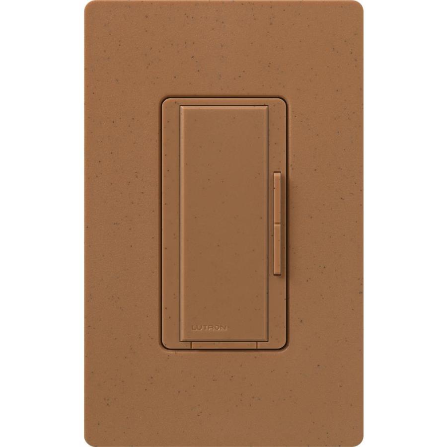Lutron Maestro 1,000-Watt 3-Way/4-Way Terracotta Indoor Tap Dimmer