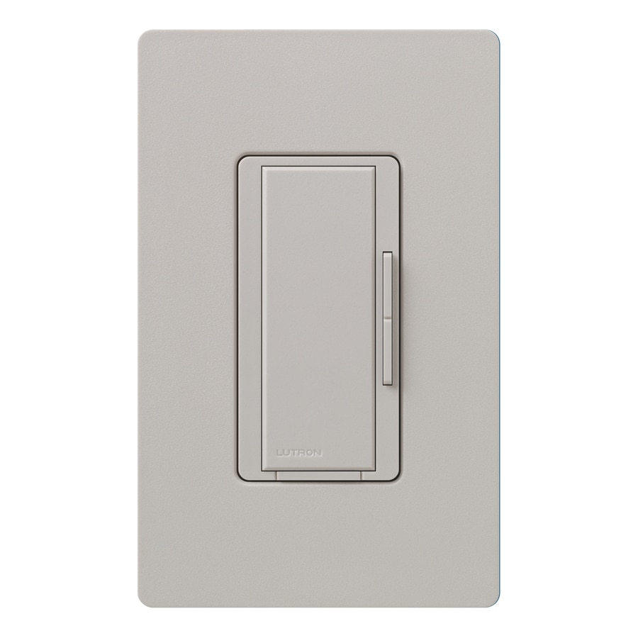 Lutron Maestro 1000-watt 3-way/4-way Taupe Tap Indoor Dimmer