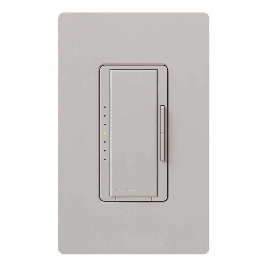 shop lutron maestro 1000 watt double pole 3 way 4 way taupe tap indoor dimmer at. Black Bedroom Furniture Sets. Home Design Ideas