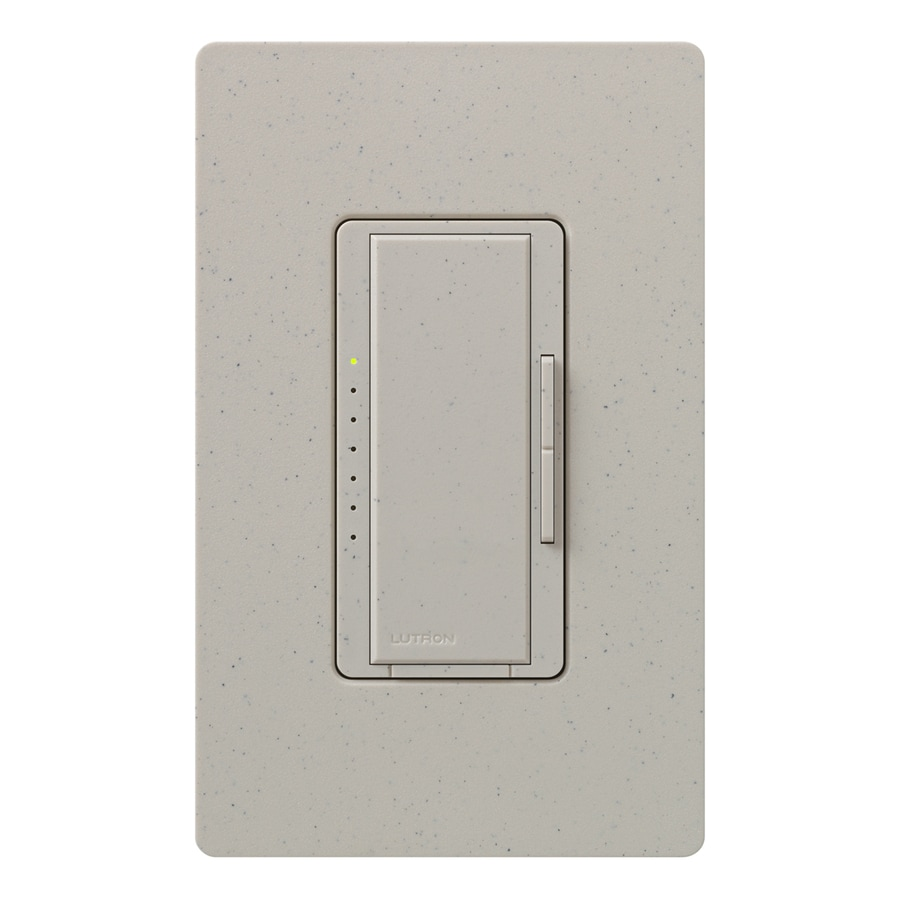 Shop Lutron Maestro 600-watt Double Pole 3-way/4-way Stone Tap ...