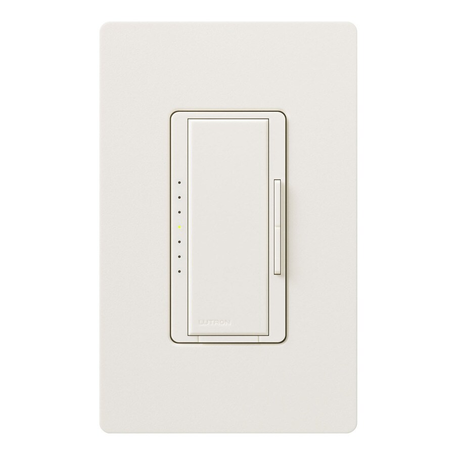 Lutron Maestro 450-Watt Double Pole 3-Way/4-Way Biscuit Indoor Tap Dimmer
