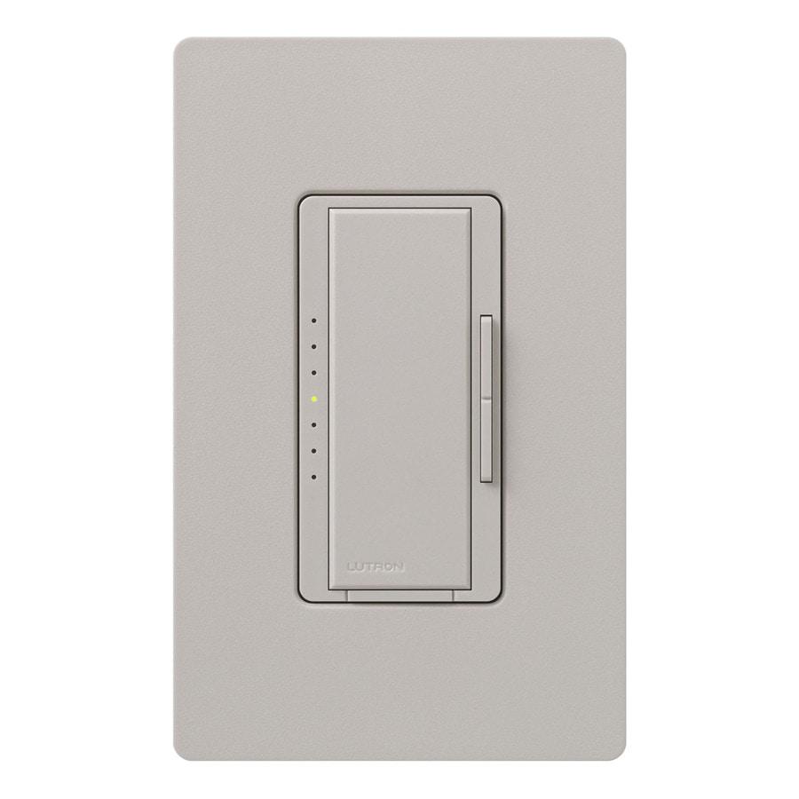 Lutron Maestro 450-Watt Double Pole 3-Way/4-Way Taupe Indoor Tap Dimmer
