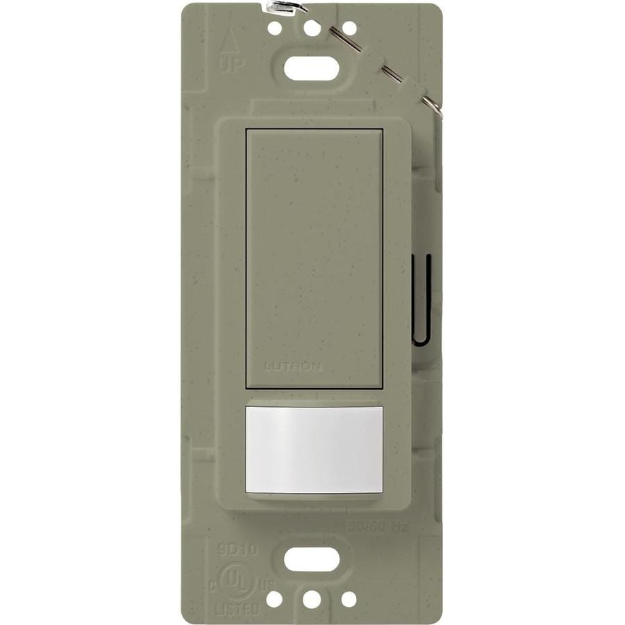 Lutron Maestro 2-Amp Single Pole Greenbriar Indoor Motion Occupancy/Vacancy Sensor
