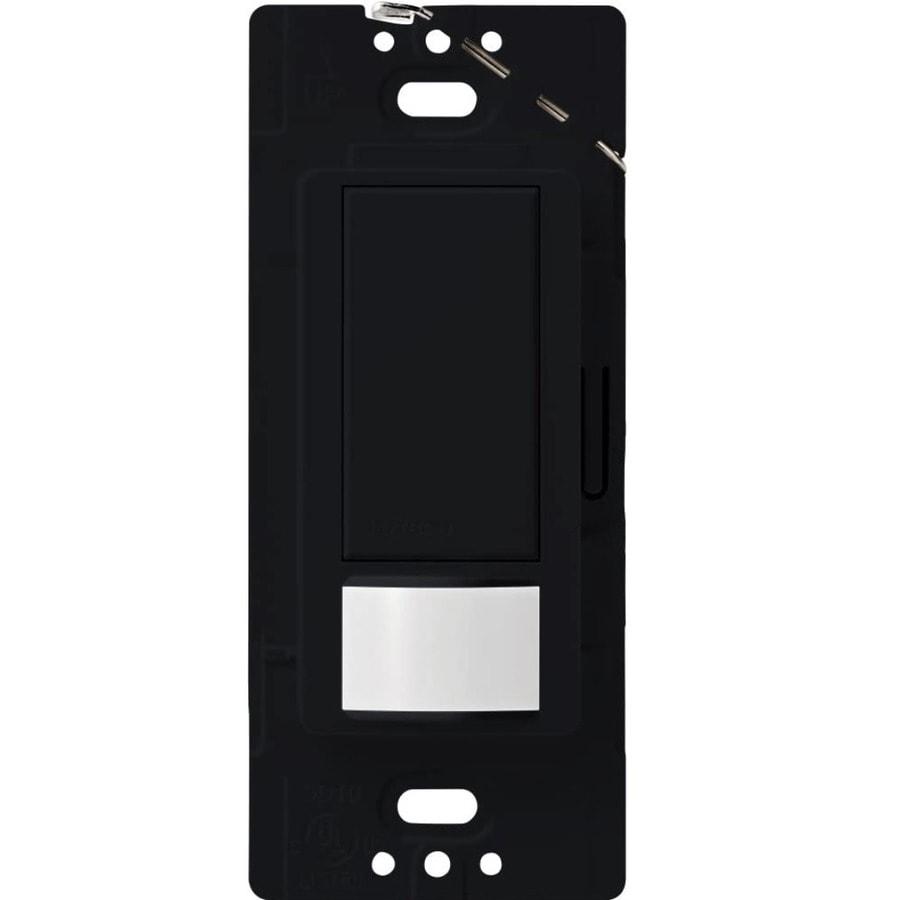 Lutron Maestro 1-Switch 2-Amp Single Pole Midnight Motion Occupancy/Vacancy Sensor