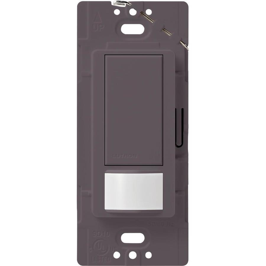 Lutron Maestro 2-Amp Single Pole Plum Indoor Motion Occupancy/Vacancy Sensor