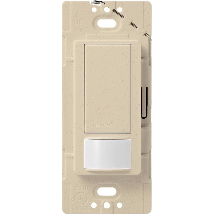 Lutron Maestro 2-Amp Single Pole Stone Indoor Motion Occupancy/Vacancy Sensor