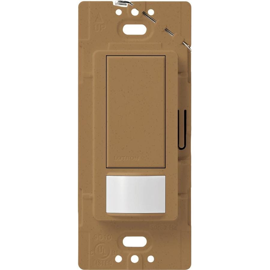 Lutron Maestro 2-Amp Single Pole Terracotta Indoor Motion Occupancy/Vacancy Sensor