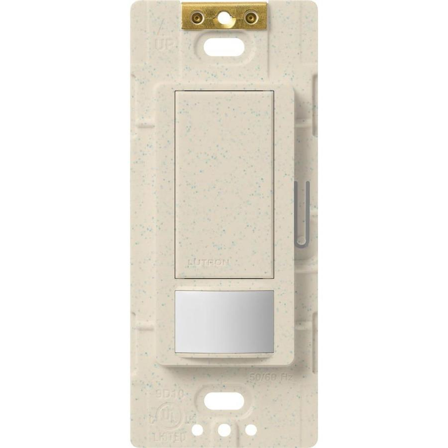 Lutron Maestro 5-Amp Double Pole 3-Way Limestone Indoor Motion Occupancy/Vacancy Sensor