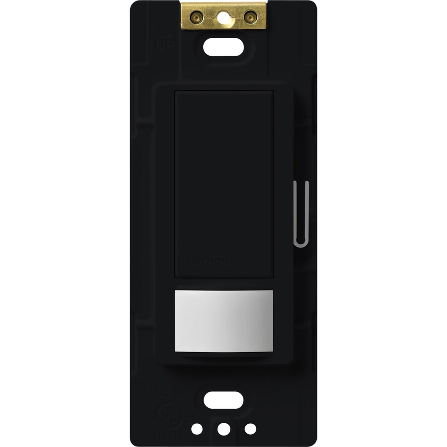 Lutron Maestro 5-Amp Double Pole 3-Way Midnight Motion Indoor Occupancy/Vacancy Sensor