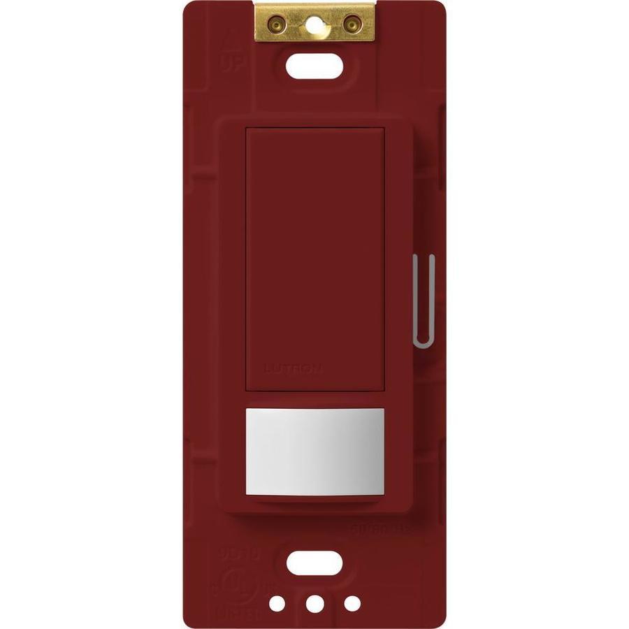 Lutron Maestro 5-Amp Double Pole 3-Way Merlot Indoor Motion Occupancy/Vacancy Sensor