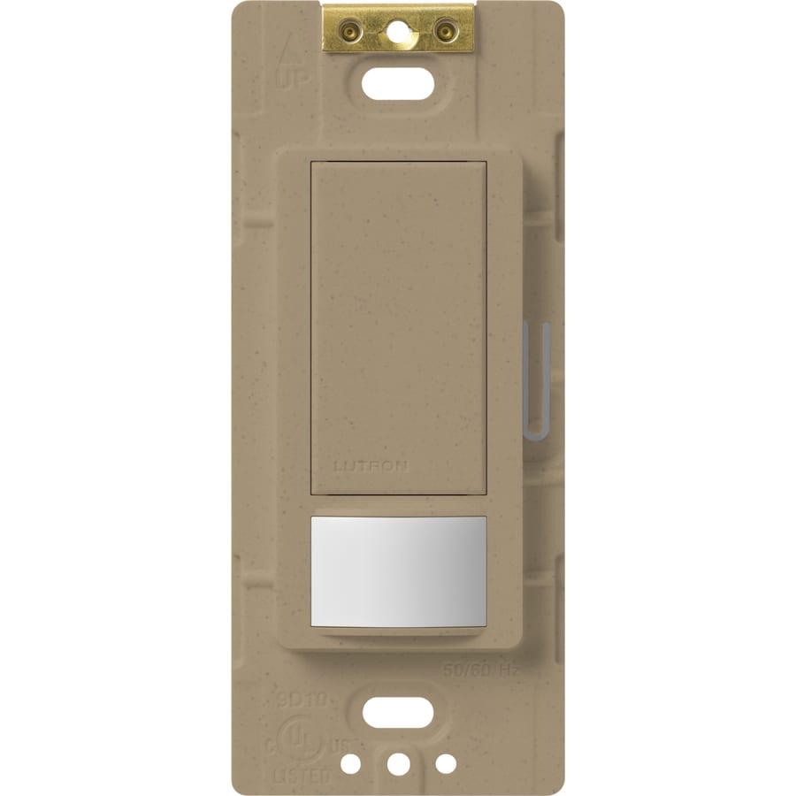 Lutron Maestro 5-Amp Double Pole 3-Way Mocha Stone Indoor Motion Occupancy/Vacancy Sensor