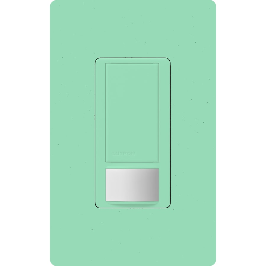 Lutron Maestro 5-Amp Double Pole 3-Way Sea Glass Indoor Motion Occupancy/Vacancy Sensor