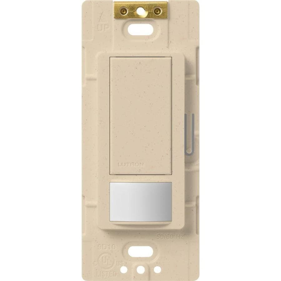 Lutron Maestro 5-Amp Double Pole 3-Way Stone Indoor Motion Occupancy/Vacancy Sensor