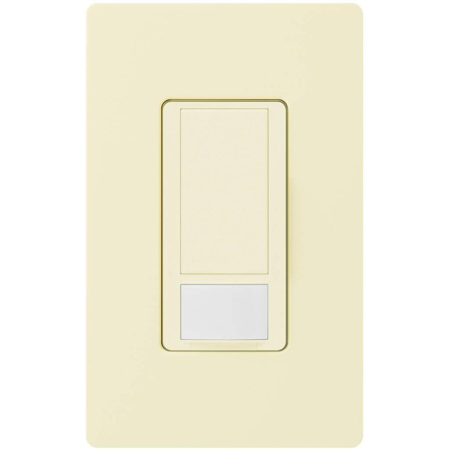 Lutron Maestro 5-Amp Double Pole 3-Way Almond Indoor Motion Occupancy/Vacancy Sensor