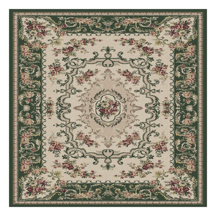 Shop Orian Rugs 5 39 3 X 7 39 6 Olive Finale Area Rug At