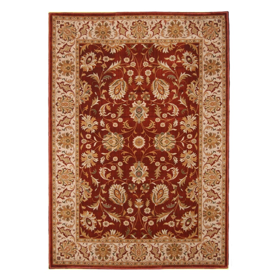 Orian Rugs 5 3 X 7 6 Spanish Red Royal Heritage Area