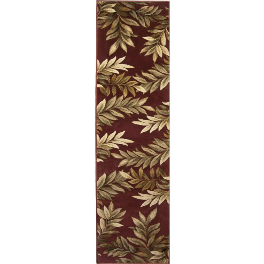 allen + roth Breezy Cream/Beige/Almond Rectangular Indoor Machine-Made Nature Runner (Common: 2 x 8; Actual: 1.92-ft W x 7.42-ft L)