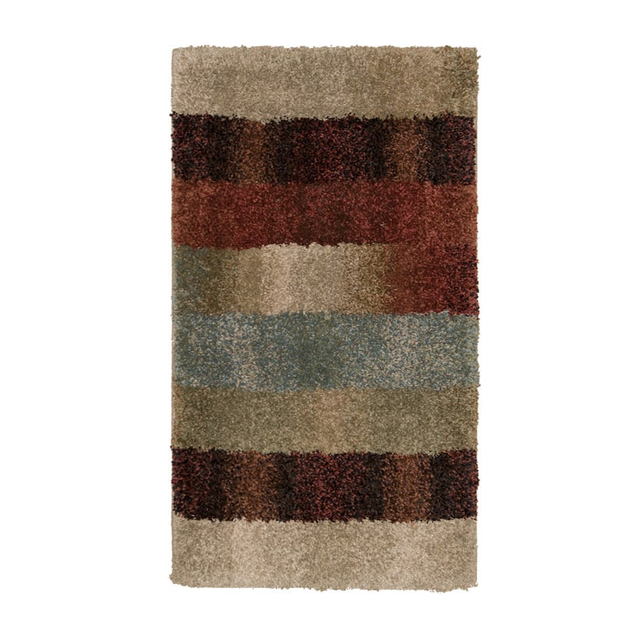 Orian Rugs Fading Panel Multicolor Rectangular Indoor Machine-Made Throw Rug (Common: 2 x 3; Actual: 1.92-ft W x 3.25-ft L x 0-ft Dia)
