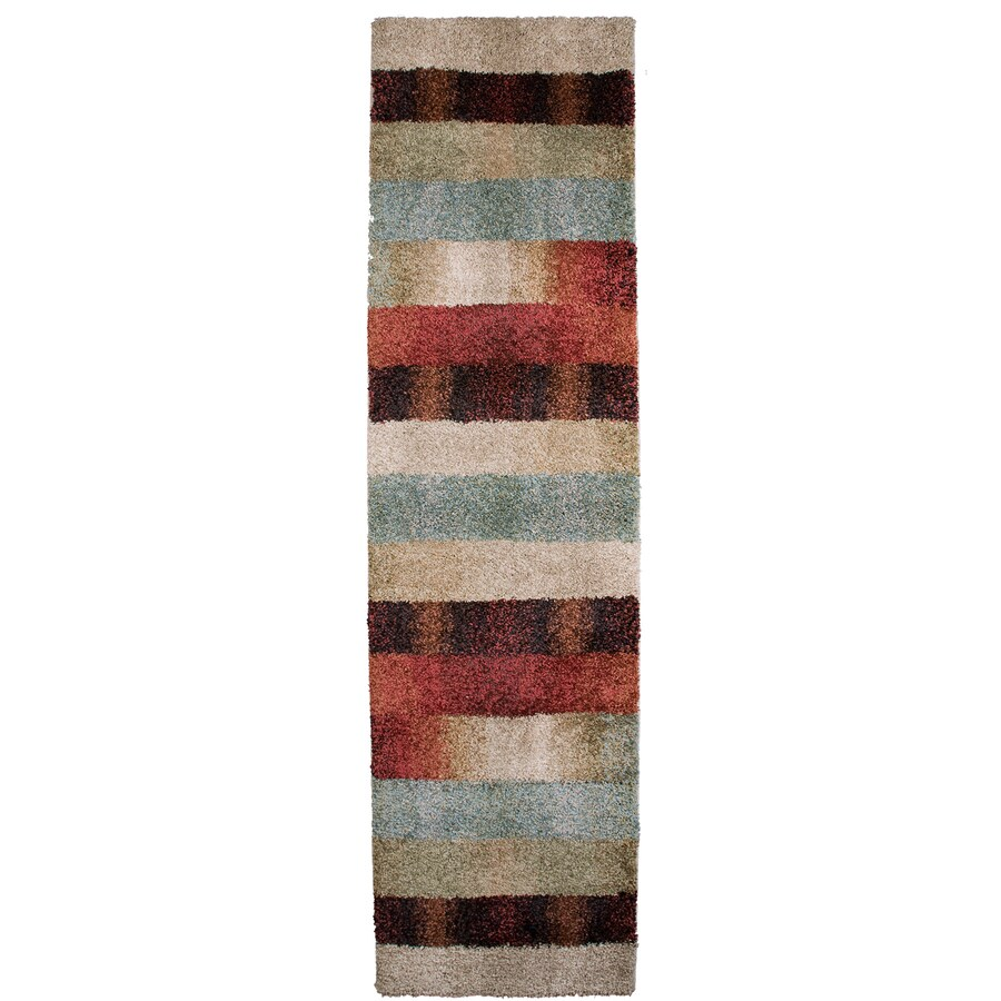 Orian Rugs Fading Panel Multicolor Rectangular Indoor Machine-made Runner (Common: 2 x 8; Actual: 2-ft W x 8-ft L)