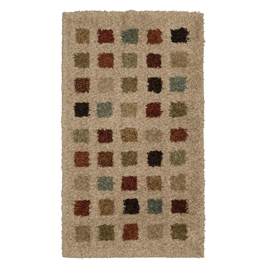 Orian Rugs Uptown Bisque Rectangular Indoor Woven Throw Rug (Common: 2 x 3; Actual: 23-in W x 39-in L)