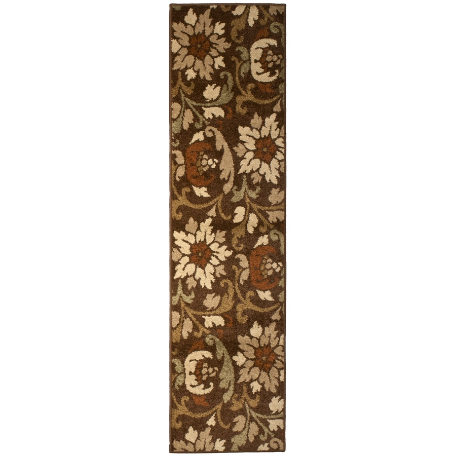 Orian Rugs Bristle Cafe Rectangular Indoor Woven Runner (Common: 2 x 8; Actual: 23-in W x 89-in L)