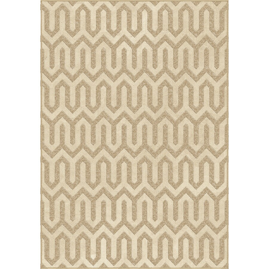 Orian Rugs Niles Driftwood Indoor Novelty Area Rug (Common: 5 x 8; Actual: 5.25-ft W x 7.5-ft L)