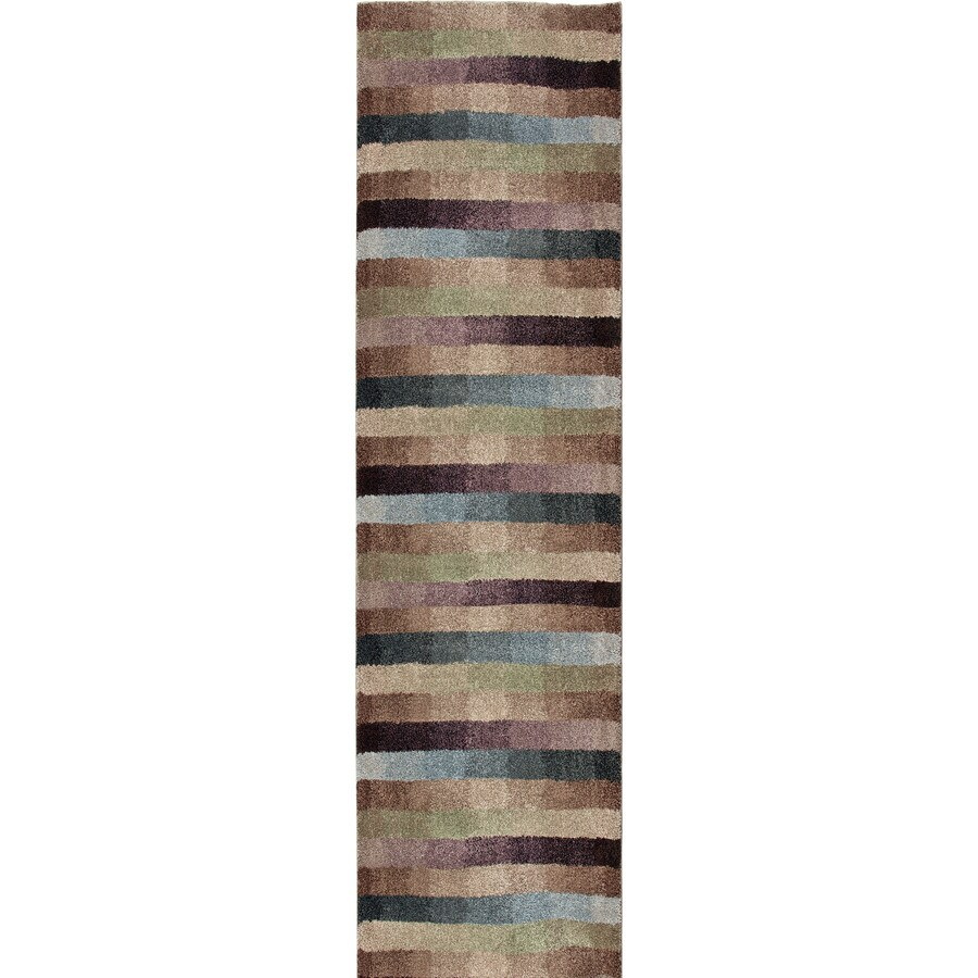 Orian Rugs Irving Multi Rectangular Indoor Machine-made Novelty Runner (Common: 2 x 8; Actual: 2.25-ft W x 8-ft L)