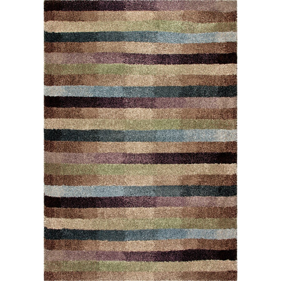 Orian Rugs Irving Multi Rectangular Indoor Machine-made Novelty Area Rug (Common: 5 x 8; Actual: 5.25-ft W x 7.5-ft L)
