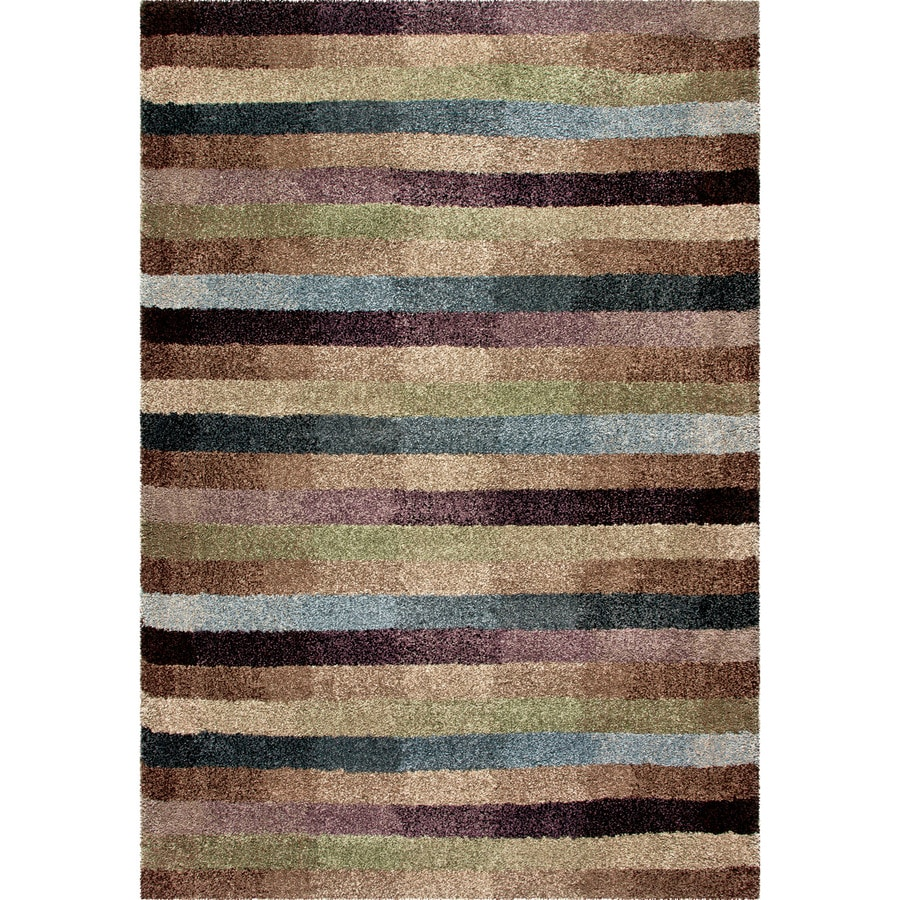 Orian Rugs Irving Multi Rectangular Indoor Machine-made Novelty Area Rug (Common: 8 x 11; Actual: 7.83-ft W x 10.83-ft L)