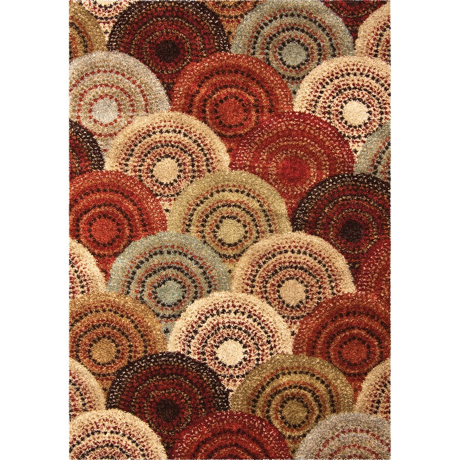 Orian Rugs Lever Indoor Novelty Area Rug (Common: 5 x 8; Actual: 5.25-ft W x 7.5-ft L)