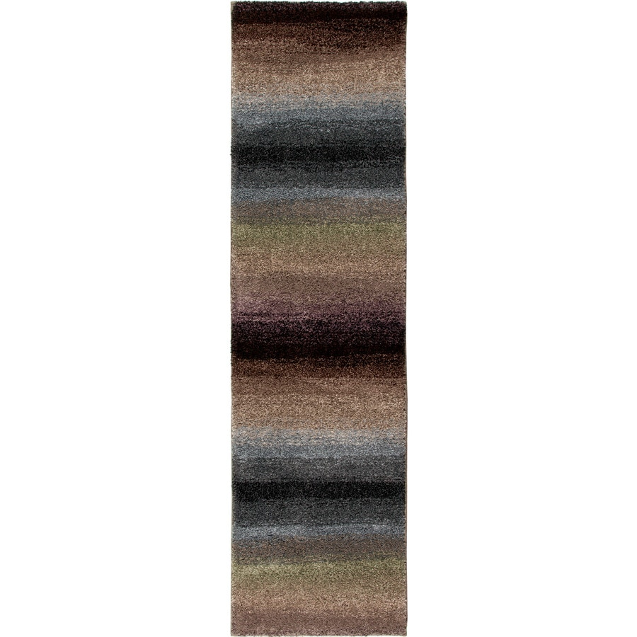 Orian Rugs Connection Multi Rectangular Indoor Machine-made Novelty Runner (Common: 2 x 8; Actual: 2.25-ft W x 8-ft L)