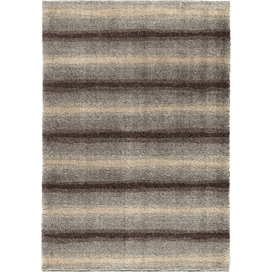 Orian Rugs Euphoria Multi Rectangular Indoor Machine-made Novelty Area Rug (Common: 5 x 8; Actual: 5.25-ft W x 7.5-ft L)