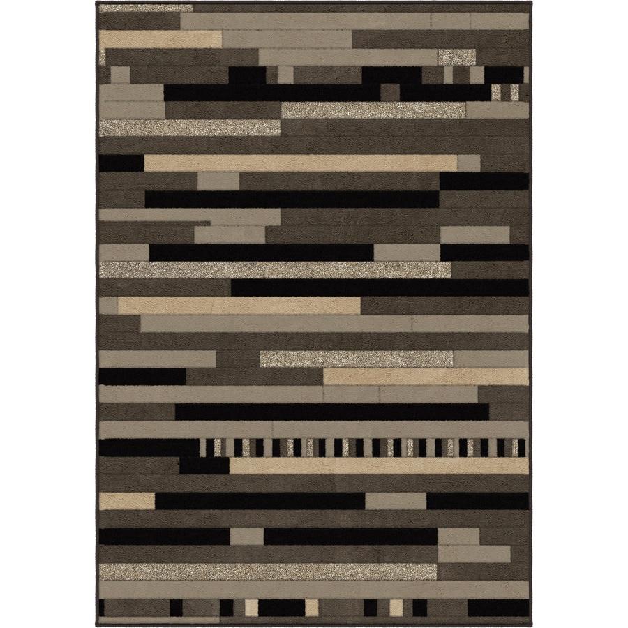 Orian Rugs Reardon Gray Rectangular Indoor Machine-made Novelty Area Rug (Common: 8 x 11; Actual: 7.83-ft W x 10.83-ft L)