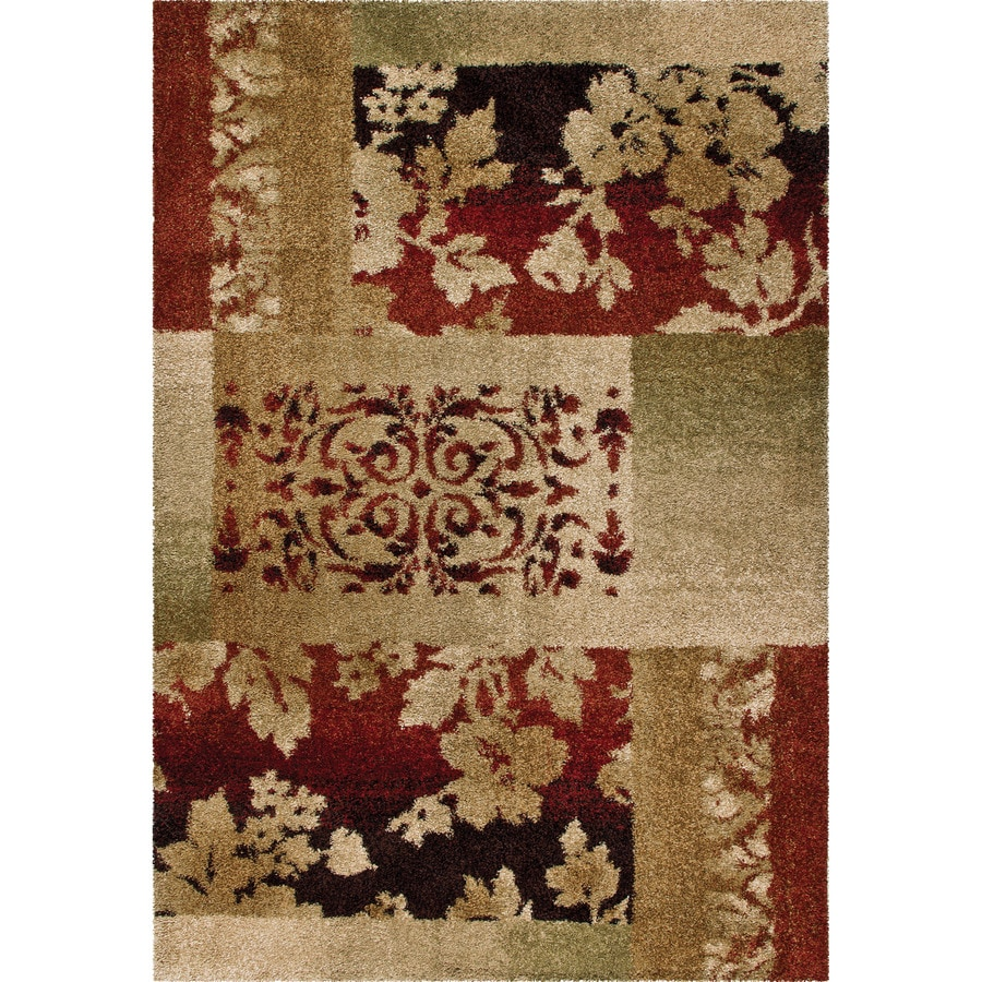 Orian Rugs Oakley Multi Rectangular Indoor Machine-made Novelty Area Rug (Common: 5 x 8; Actual: 5.25-ft W x 7.5-ft L)